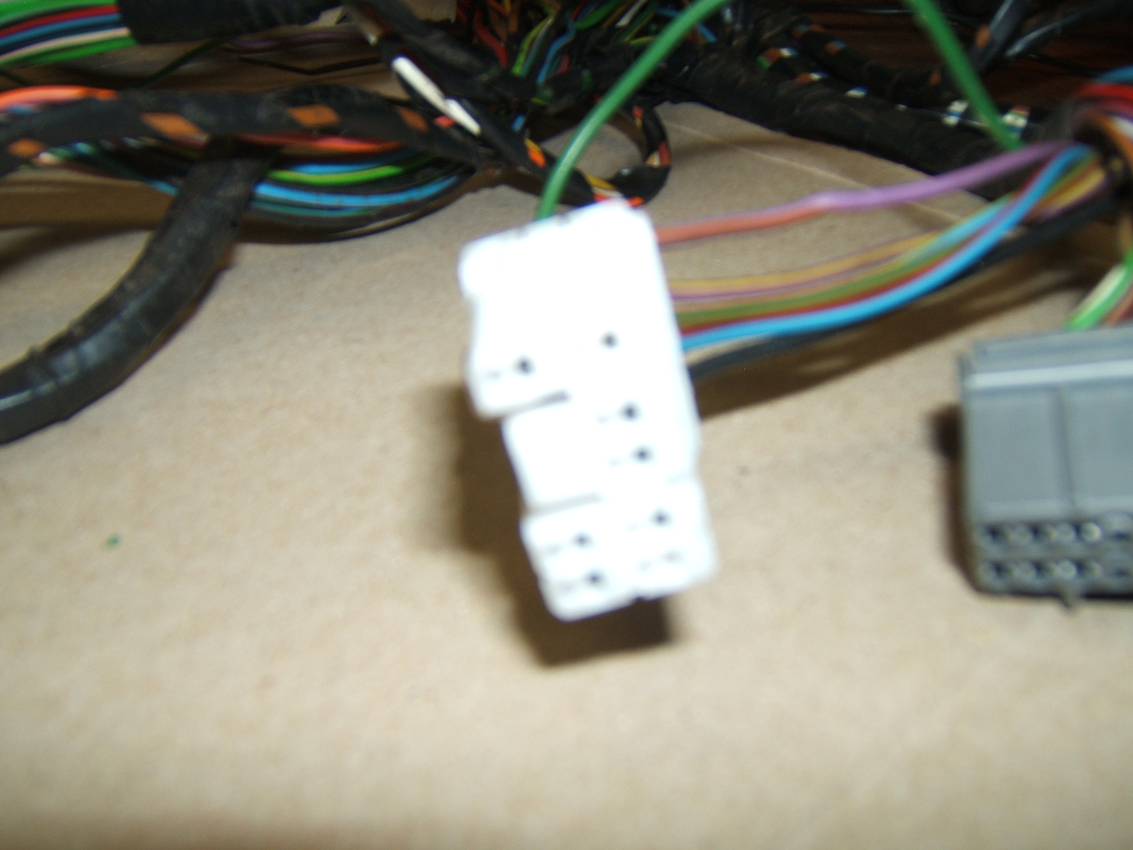 Mgfcarsca Canadian Mgf Importer Electric Power Assisted Steering Car Wiring Harness Bulkhead Grommet The Fifth Wire Solid Pink Goes To Diagnostic Socket C0040 And This Too Had Be Spliced Into Main Just Behind