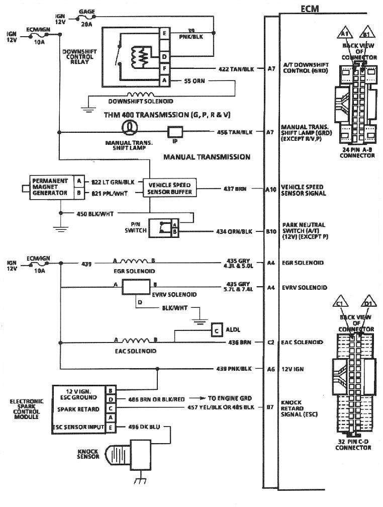 using an electronic speedo with tbi and 700r4 the 1947 present rh 67 72chevytrucks com Dolphin Speedometer Wiring Diagram Dolphin Speedometer Wiring Diagram