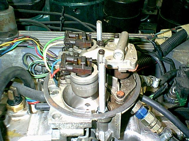 Wedgeparts  Triumph Tr8 Gm Throttle Body Fuel Injection  Tbi  Conversion